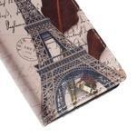 Peněženkové pouzdro na Sony Xperia M4 Aqua - Eiffelova věž - 7/7