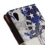 Peněženkové pouzdro na Sony Xperia M4 Aqua - Socha Svobody - 7/7