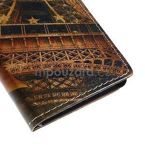 Peněženkové pouzdro na Sony Xperia M4 Aqua - Eiffel - 7