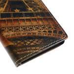 Peněženkové pouzdro na Sony Xperia M4 Aqua - Eiffel - 7/7