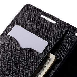 Mercur peněženkové pouzdro na Sony Xperia Z5 - černé - 7