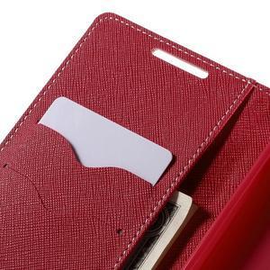 Mercur Peňaženkové puzdro pre Sony Xperia Z5 - ružové - 7