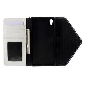 Stylové peněženkové pouzdro Sony Xperia Z5 - modré - 7