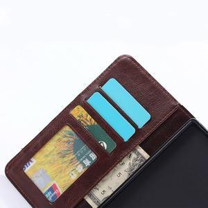 Stylové jeans pouzdro na mobil Sony Xperia Z5 - modré - 7