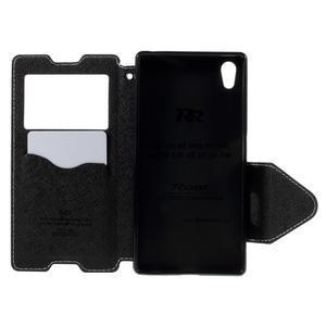 Diary pouzdro s okýnkem na Sony Xperia Z5 - bílé - 7