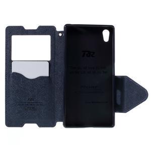 Diary pouzdro s okýnkem na Sony Xperia Z5 - fialové - 7