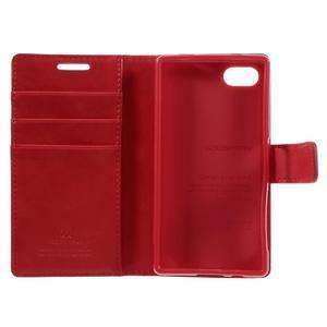 Bluemoon PU kožené pouzdro na Sony Xperia Z5 Compact - červené - 7