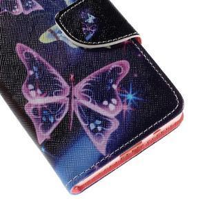 Wally peněženkové pouzdro na Sony Xperia Z5 Compact - kouzelní motýlci - 7