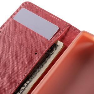 Wally peněženkové pouzdro na Sony Xperia Z5 Compact - srdce - 7