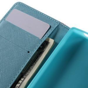 Wally peněženkové pouzdro na Sony Xperia Z5 Compact - květiny - 7