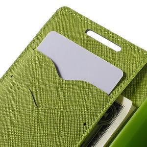 Fancy PU kožené pouzdro na Sony Xperia Z5 Compact - tmavěmodré - 7