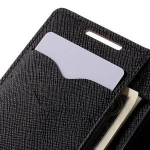 Fancy PU kožené pouzdro na Sony Xperia Z5 Compact - hnědé - 7