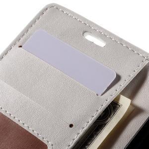 Croco peněženkové pouzdro na Sony Xperia Z5 Compact - bílé - 7