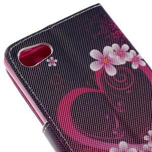 Diary peněženkové pouzdro na Sony Xperia Z5 Compact - srdce - 7
