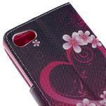 Diary peněženkové pouzdro na Sony Xperia Z5 Compact - srdce - 7/7