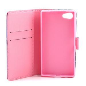 Peněženkové pouzdro na mobil Sony Xperia Z5 Compact - medvídek - 7