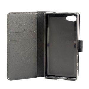 Peněženkové pouzdro na mobil Sony Xperia Z5 Compact - ptačí peříčka - 7