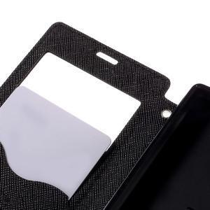 Pouzdro s okýnkem na Sony Xperia Z5 Compact - černé - 7
