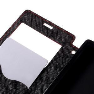 Pouzdro s okýnkem na Sony Xperia Z5 Compact - červené - 7
