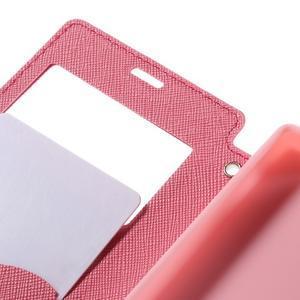 Pouzdro s okýnkem na Sony Xperia Z5 Compact - rose - 7
