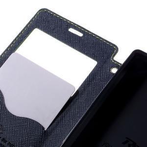 Pouzdro s okýnkem na Sony Xperia Z5 Compact - zelené - 7