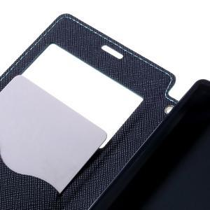 Pouzdro s okýnkem na Sony Xperia Z5 Compact - světlemodré - 7