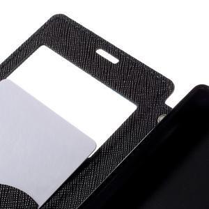 Pouzdro s okýnkem na Sony Xperia Z5 Compact - tmavěmodré - 7
