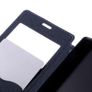 Pouzdro s okýnkem na Sony Xperia Z5 Compact - fialové - 7
