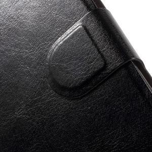 Horse peněženkové pouzdro na mobil Xiaomi Mi5 - černé - 7