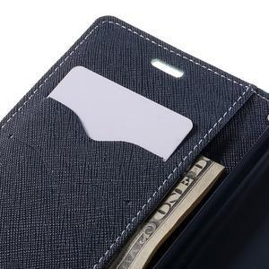 Diary PU kožené pouzdro na mobil Xiaomi Redmi 3 - azurové - 7