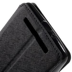 Diary view peněženkové pouzdro na Xiaomi Redmi 3 - černé - 7