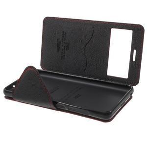 Diary view peněženkové pouzdro na Xiaomi Redmi 3 - červené - 7
