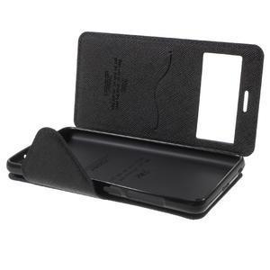 Diary view peněženkové pouzdro na Xiaomi Redmi 3 - tmavěmodré - 7