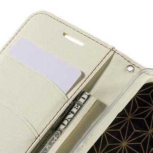 Bílé peněženkové pouzdro na mobil Xiaomi Redmi Note 2 - 7
