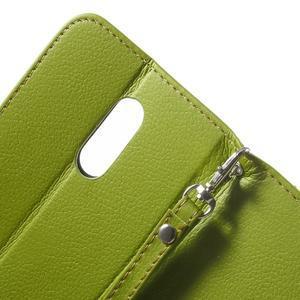 Leaf peněženkové pouzdro na Xiaomi Redmi Note 3 - zelené - 7