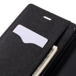 Wallet PU kožené pouzdra na Xiaomi Redmi Note 3 - černé - 7