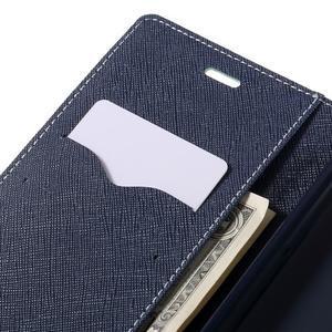 Wallet PU kožené pouzdra na Xiaomi Redmi Note 3 - azurové - 7