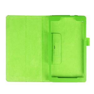 Dvoupolohové pouzdro na tablet Lenovo Tab 2 A7-20 - zelené - 7