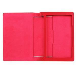 Safe PU kožené pouzdro na tablet Lenovo Yoga Tab 3 8.0 - červené - 7