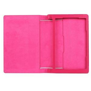 Safe PU kožené pouzdro na tablet Lenovo Yoga Tab 3 8.0 - rose - 7
