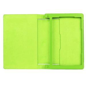 Safe PU kožené pouzdro na tablet Lenovo Yoga Tab 3 8.0 - zelené - 7