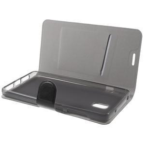 Horse peněženkové pouzdro na Lenovo Vibe P1 - černé - 7