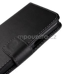 PU kožené pouzdro na Samsung Galaxy A3 - černé - 7