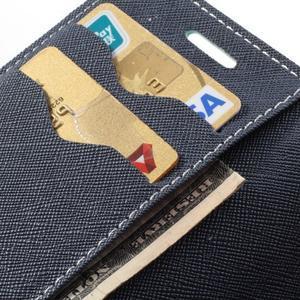 Diary pouzdro na mobil Samsung Galaxy S Duos/Trend Plus - azurové - 7