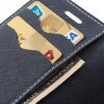 Diary pouzdro na mobil Samsung Galaxy S Duos/Trend Plus - azurové - 7/7