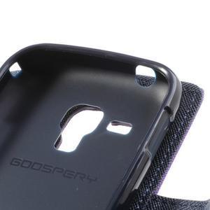 Diary pouzdro na mobil Samsung Galaxy S Duos/Trend Plus - fialové - 7