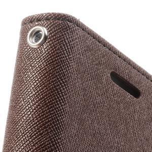 Diary pouzdro na mobil Samsung Galaxy S Duos/Trend Plus - hnědé/černé - 7