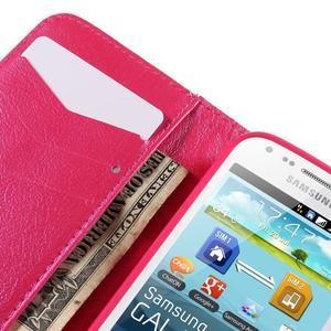 Peněženkové pouzdro pro Samsung Galaxy S Duos / Trend Plus - srdce - 7