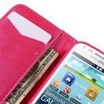 Peněženkové pouzdro pro Samsung Galaxy S Duos / Trend Plus - srdce - 7/7