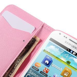 Peněženkové pouzdro pro Samsung Galaxy S Duos / Trend Plus - ptáček v kleci - 7